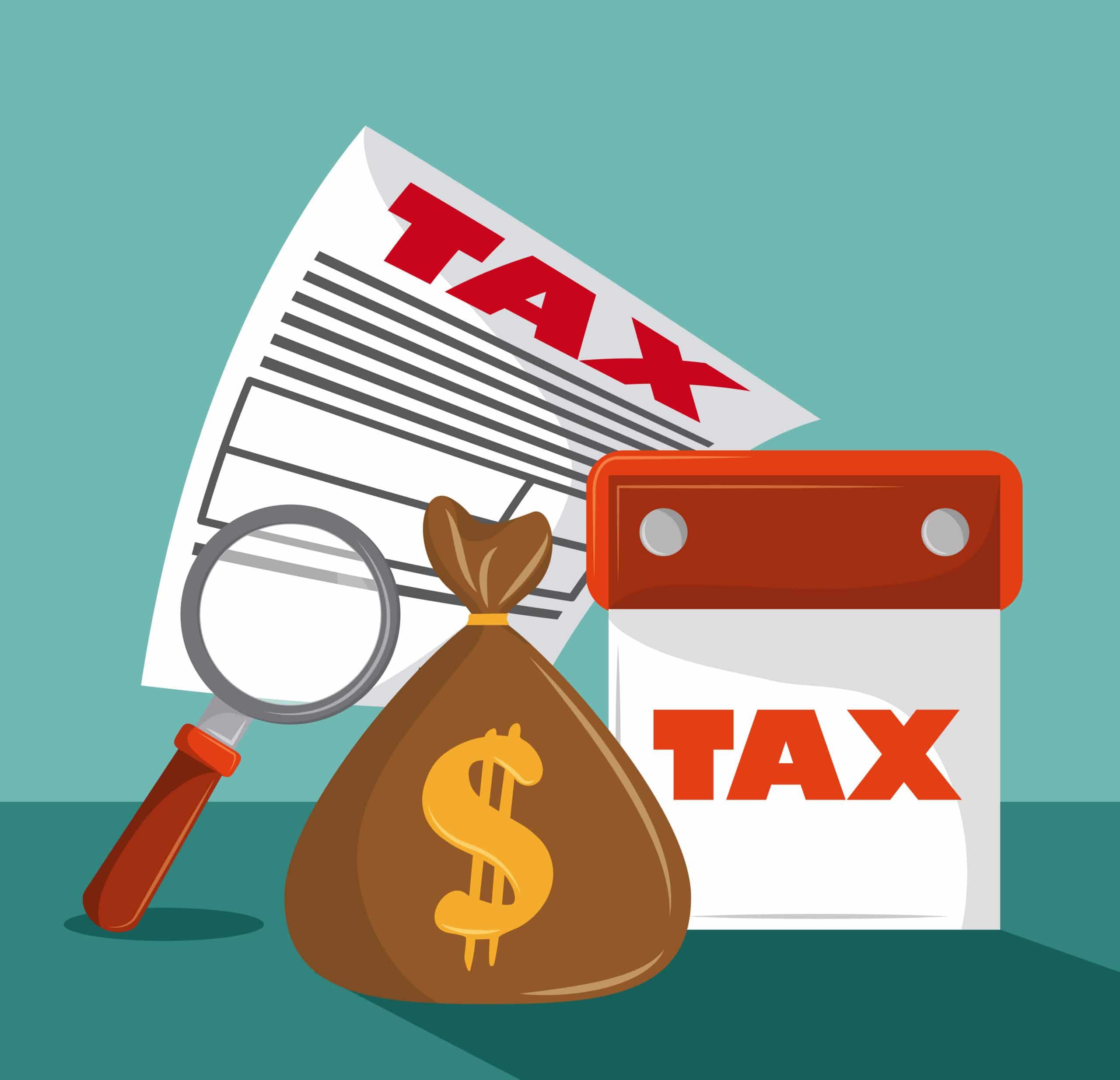 UBIT tax due illustration
